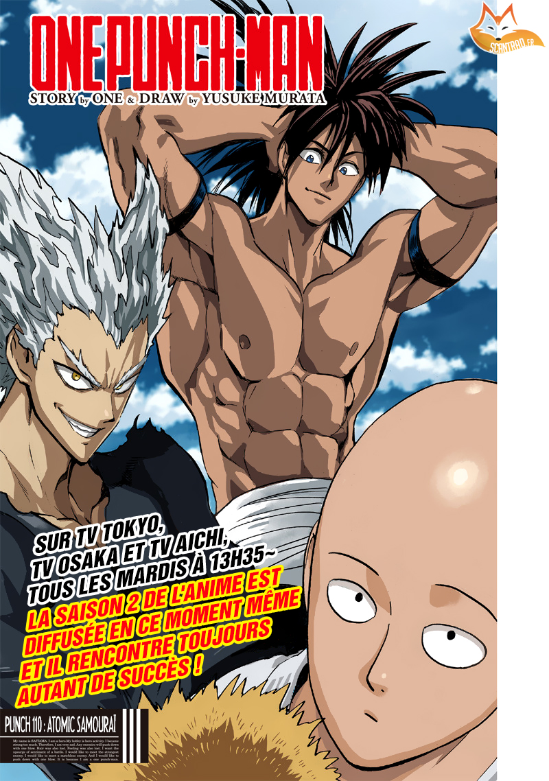 Lecture en ligne One Punch Man 110 page 1