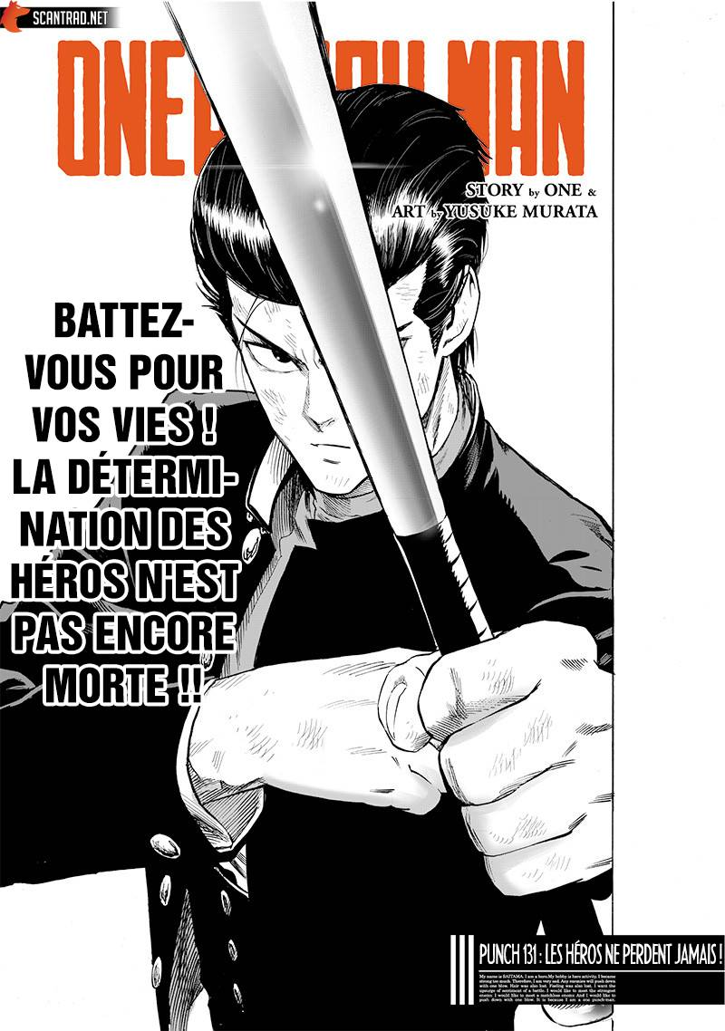 Lecture en ligne One Punch Man 131 page 1